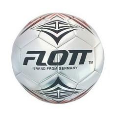 Мяч футбольный FLOTT FSO-0140 (silver)