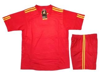 Форма футбольная 0490 (красная)