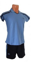 Форма волейбольная женская арт.0502(синяя)