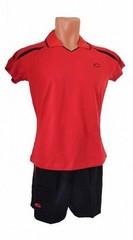 Форма волейбольная женская арт.0502 (красная)