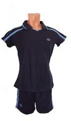 Форма волейбольная женская арт.0502 (т-синяя)