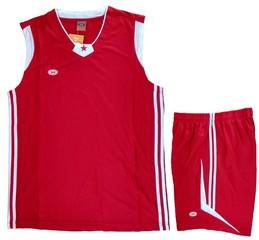 Форма баскетбольная 0505 (красная)