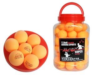 Шарики для настольного тенниса AURORA (оранжевые)
