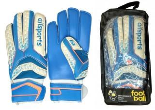 Перчатки вратаря AILSPORTS (синие)