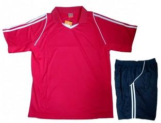 Форма футбольная 1403 (красная)