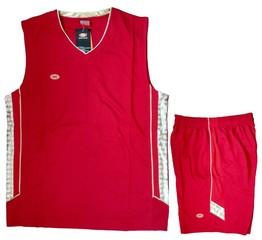 Форма баскетбольная 1501 (красная)