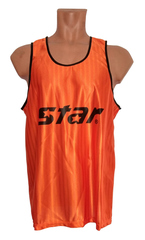 Манишки футбольные Star 01 (оранжевые)