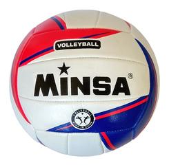 Мяч волейбольный Minsa арт. 5-1018 (red)