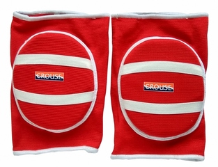 Наколенники волейбольные Crouse 7107 (red)