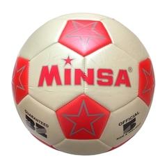 Мяч футбольный Minsa 9001 (red)