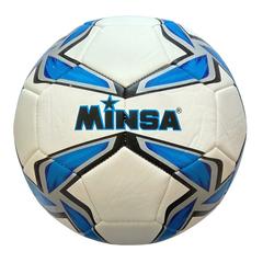 Мяч футбольный Minsa 9007 (blue)