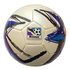 Мяч футбольный Minsa 9009 (purple)