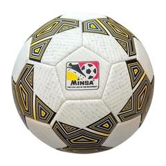 Мяч футбольный Minsa 9046 (black)