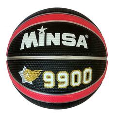 Мяч баскетбольный Minsa C7-9123 (чёрно-красный)