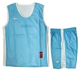 Форма баскетбольная AOQUE двухсторонняя (светло-синяя)