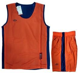 Форма баскетбольная AOQUE двухсторонняя (оранжевая)