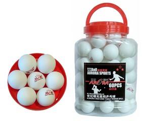 Шарики для настольного тенниса AURORA (белые)