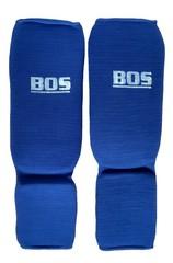 Щитки для единоборств Bos (синие)
