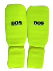 Щитки для единоборств Bos (зелёные)