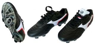 Бутсы футбольные Crouse 007-2 (чёрные)