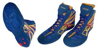 Обувь для борьбы Crouse 1305 (синие)