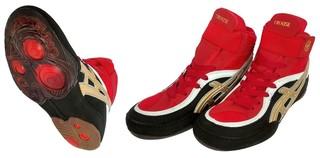 Обувь для борьбы Crouse JY802 (красные)