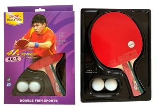 Ракетка для настольного тенниса Double Fish 4A (2017)