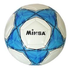 Мяч футбольный Minsa 1010 (blue)