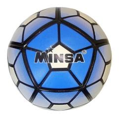 Мяч футбольный Minsa 9041 (blue)