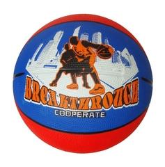 Мяч баскетбольный FLOTT FBA-0072 (красно-синий)