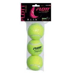 Мячи для большого тенниса FLOTT FTB-0755