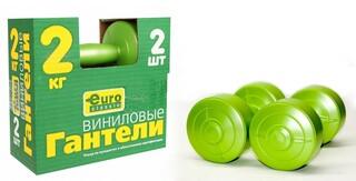 Гантель виниловая ЕвроКлассик 2 кг