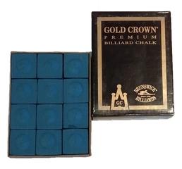 Мел для бильярда Gold Crown (12)