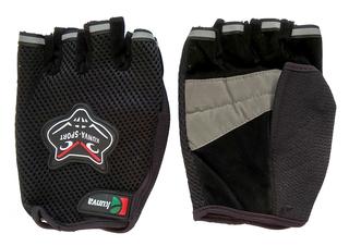 Перчатки велосипедные Kunva Sport (чёрные)
