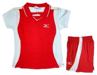 Форма волейбольная женская (красная)