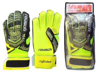Перчатки вратаря Reusch (зелёные)