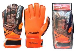 Перчатки вратаря Reusch (оранжевые)